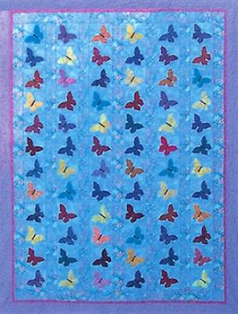 Butterfly Quilt   Floral and Bird Series   England Design Studios : butterfly quilt pattern - Adamdwight.com