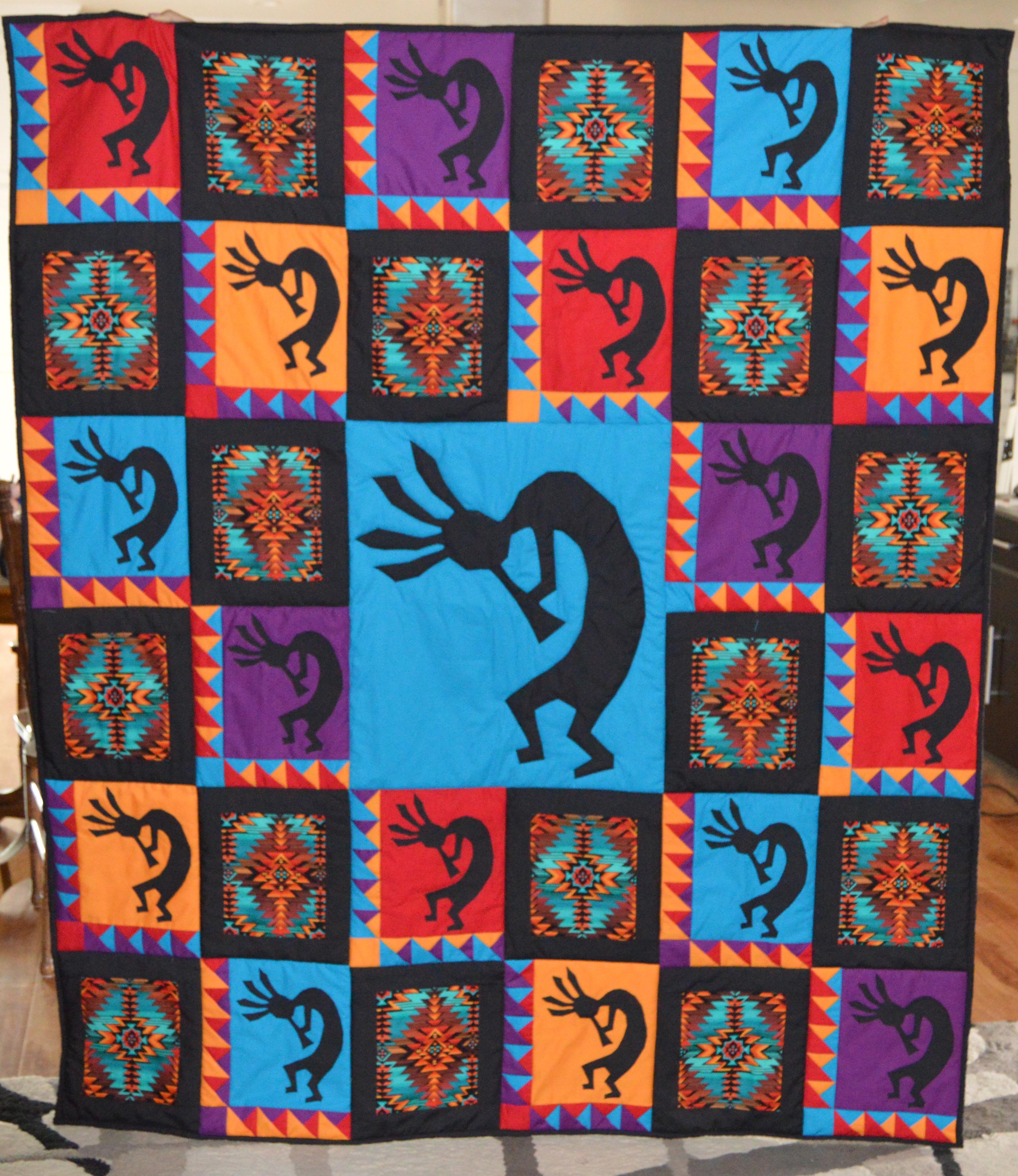 Kokopelli | Seasonal Series | England Design Studios : kokopelli quilt pattern - Adamdwight.com